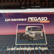 Coches y Motocicletas: CATALOGO PEGASO TECNO FRANCES. Lote 243900360