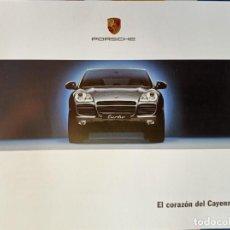 Coches y Motocicletas: CATÁLOGO PORSCHE CAYENNE. ABRIL 2002. EN ESPAÑOL *. Lote 243929045