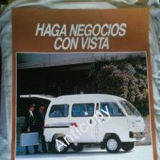Coches y Motocicletas: IMPRESIONANTE PÓSTER CARTEL SUZUKI SUPER CARRY AÑO 1988. Lote 244418655