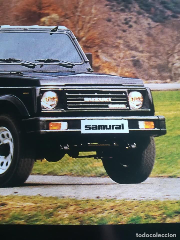 Coches y Motocicletas: Impresionante póster cartel Suzuki Santana Samurai año 1989 - Foto 4 - 244455000
