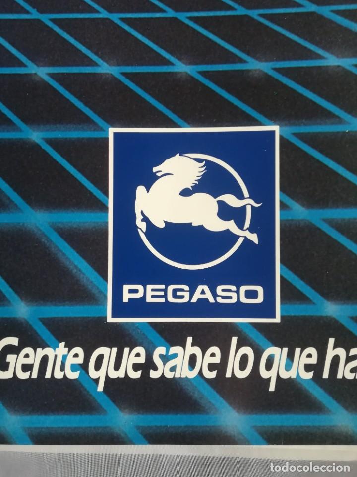 Coches y Motocicletas: Impresionante póster cartel camión Pegaso Tecno año 1985 - Foto 6 - 244677750