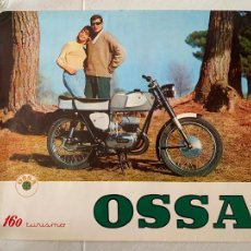 Coches y Motocicletas: MOTO OSSA 160 TURISMO CARTEL ORIGINAL DE 1964. Lote 244692050