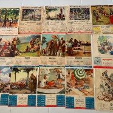Coches y Motocicletas: HOJAS CALENDARIO FIRESTONE 1948-1952. Lote 244706140