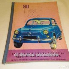 Coches y Motocicletas: SU SEAT 600 Y 600 D. GUIA TÉCNICA Y PRÁCTICA. ORIGINAL. MBE. Lote 245087960