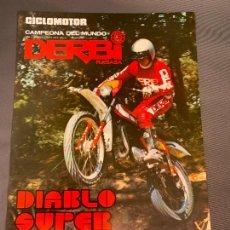 Automobili e Motociclette: DERBI RABASA MOTO DIABLO SUPER CATALOGO ORIGINAL. Lote 245170760
