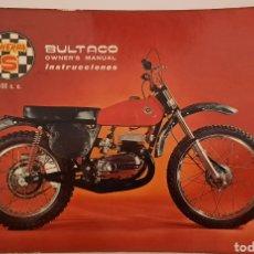Carros e motociclos: BULTACO SHERPA S 100 C.C. / MANUAL DE INSTRUCCIONES VERSION INGLES 1970 / ENGLISH VERSION. Lote 245591735