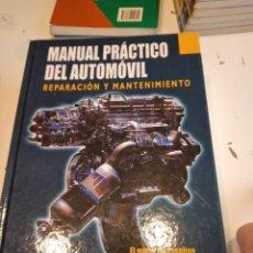 Coches y Motocicletas: G-78 LIBRO MECANICA MANUAL PRACTICO DEL AUTOMOVIL REPARACION Y MANTENIMIENTO. Lote 245950490