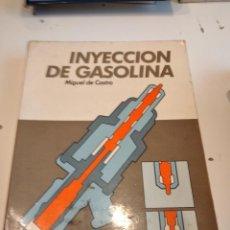 Coches y Motocicletas: M-14 LIBRO MECANICA INYECCION DE GASOLINA MIGUEL DE CASTRO. Lote 245950625