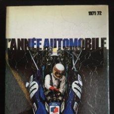 Coches y Motocicletas: L'ANNE AUTOMOBILE 1971-1972, EDITA LAUSANNE. NUMERO 19. Lote 246266955