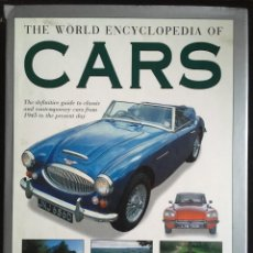 Coches y Motocicletas: THE WORLD ENCYCLOPEDIA OF CARS, 1999. Lote 246298880