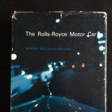 Coches y Motocicletas: THE ROLLS ROYCES MOTOR CAR 1966. Lote 246303760