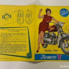 Automobili e Motociclette: CATALOGO ISO MOTO ORIGINAL. Lote 246354990