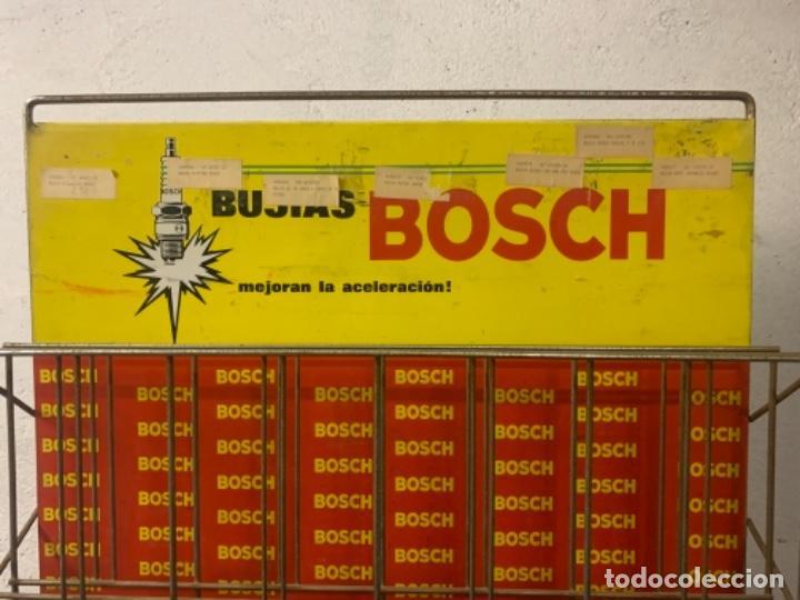 Coches y Motocicletas: BOSCH EXPOSITOR BUJIAS ANTIGUO - Foto 2 - 246916640