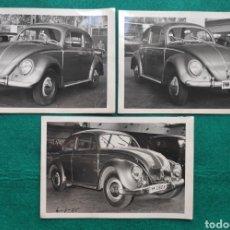 Coches y Motocicletas: VOLSKWAGEN BEETLE FOTOGRAFÍA 1954 MATRÍCULA PARQUE MÓVIL MINISTERIAL. Lote 247113665