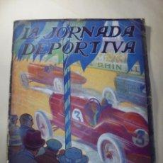 Coches y Motocicletas: MAGNIFICO ANTIGUA REVISTA LA JORNADA DEPORTIVA, PENYA RHIN 1923. Lote 247483860