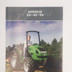 Coches y Motocicletas: ANTIGUO FLYER AGROKID - TRACTORES DEUTZ FAHZ - 2006. Lote 249059935