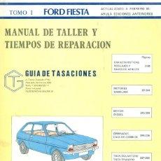 Carros e motociclos: + MANUAL DE TALLER DOS TOMOS - AÑO 1985 FORD FIESTA BUEN ESTADO. Lote 251732645