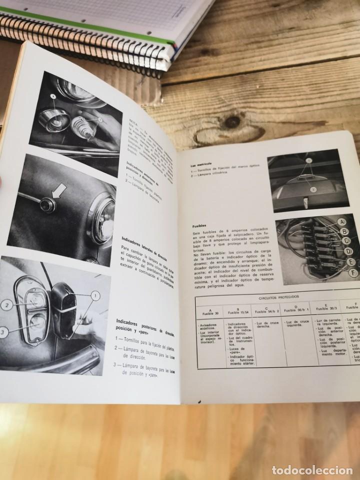 Coches y Motocicletas: Manual de uso y entretenimiento del Seat 600D, 1968, MODELOS BERLINA Y DESCAPOTABLE, 50 PAGINAS - Foto 2 - 251776840