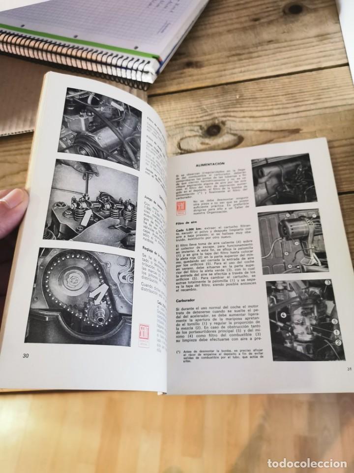 Coches y Motocicletas: Manual de uso y entretenimiento del Seat 600D, 1968, MODELOS BERLINA Y DESCAPOTABLE, 50 PAGINAS - Foto 3 - 251776840