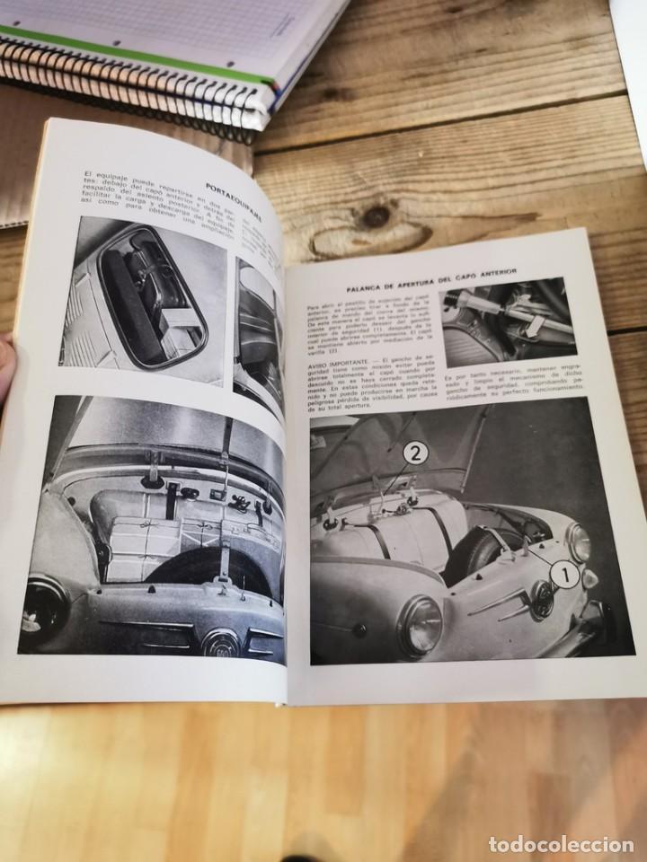 Coches y Motocicletas: Manual de uso y entretenimiento del Seat 600D, 1968, MODELOS BERLINA Y DESCAPOTABLE, 50 PAGINAS - Foto 4 - 251776840