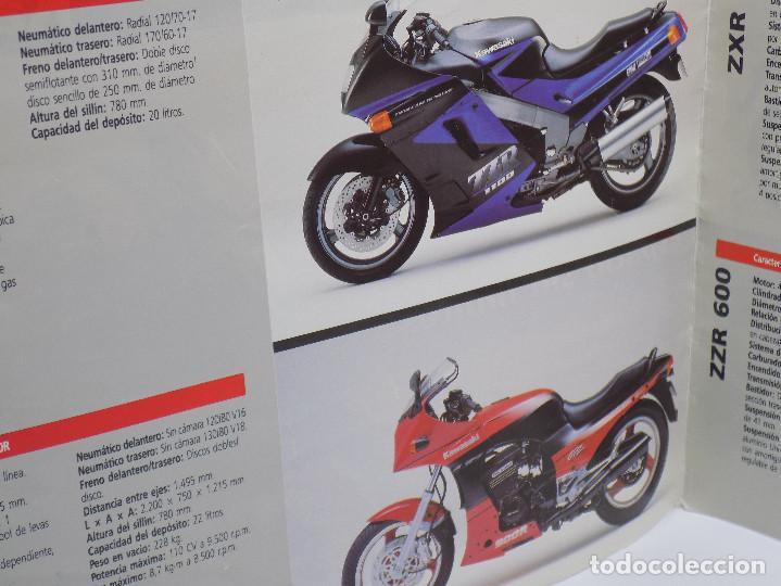 Coches y Motocicletas: CATALOGO KAWASAKI AÑOS 90 - Foto 2 - 252896920