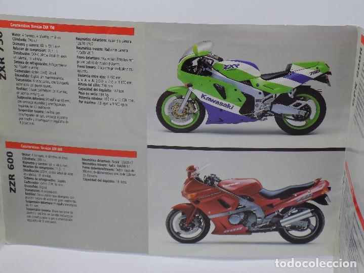 Coches y Motocicletas: CATALOGO KAWASAKI AÑOS 90 - Foto 3 - 252896920