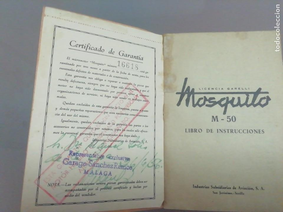 Coches y Motocicletas: Motor mosquito Archidona documentos - Foto 2 - 252915020