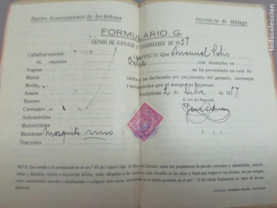 Coches y Motocicletas: Motor mosquito Archidona documentos - Foto 3 - 252915020