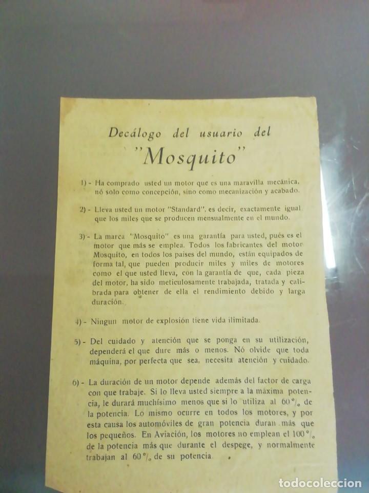 Coches y Motocicletas: Motor mosquito Archidona documentos - Foto 6 - 252915020