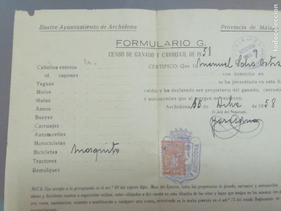 Coches y Motocicletas: Motor mosquito Archidona documentos - Foto 7 - 252915020