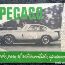 Coches y Motocicletas: PEGASO Z - 102 - CATALOGO PUBLICIDAD ORIGINAL. Lote 253061110