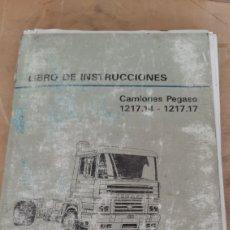 Coches y Motocicletas: PEGASO CATALOGO INSTRUCCIONES CAMIÓN 1217.14 / 1217.17 LIBRERIA O ALMACÉN DO COLISEVM COLECCIONISMO. Lote 253303655