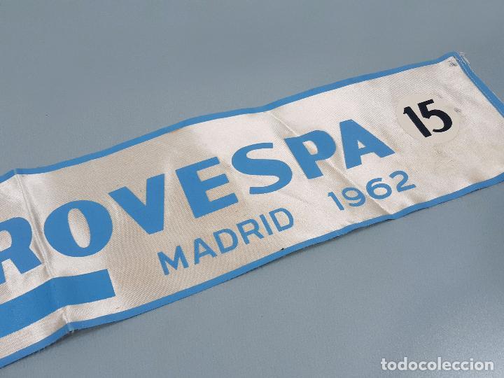 Coches y Motocicletas: DORSAL DE LA MOTO Y HOJA DE HOTELES DE EUROVESPA MADRID 62 - VESPA CLUB ESPAÑA 1962 - Foto 6 - 253553310