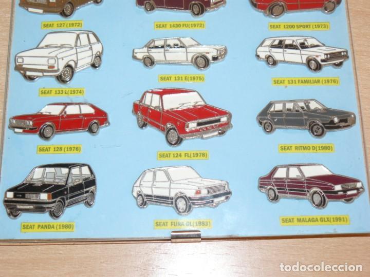 Coches y Motocicletas: Expositor 18 Pins Metalicos SEAT 1500 127 133 124 128 131 1430 600 850 Ritmo Panda Malaga alfreedom - Foto 2 - 253554270