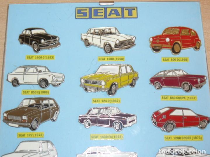 Coches y Motocicletas: Expositor 18 Pins Metalicos SEAT 1500 127 133 124 128 131 1430 600 850 Ritmo Panda Malaga alfreedom - Foto 3 - 253554270