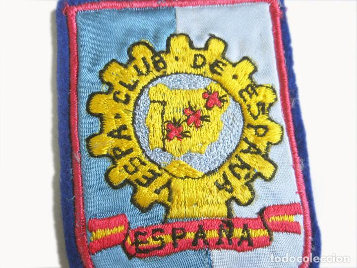 Coches y Motocicletas: PARCHE BORDADO DEL VESPA CLUB DE ESPAÑA DE LOS AÑOS 60. MIDE 6,5 X 8,5 CMS - Foto 2 - 253560625