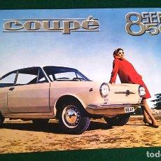 Carros e motociclos: SEAT 850 COUPÉ | CATÁLOGO-FOLLETO REPRO. Lote 253581030