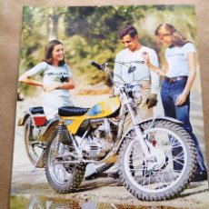 Automobili e Motociclette: BULTACO LOBITO MK7 | 1974 | CATÁLOGO/FOLLETO REPRO. Lote 253932305