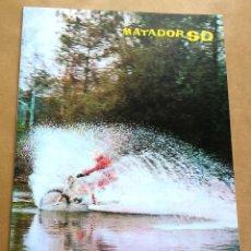 Automobili e Motociclette: BULTACO MATADOR MK5 SD | 1974 | CATÁLOGO/FOLLETO REPRO. Lote 254071570