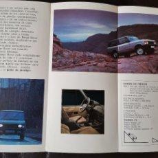 Coches y Motocicletas: 1990`S CATÁLOGO RANGE ROVER. Lote 254419965