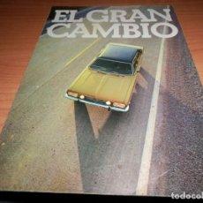 Coches y Motocicletas: CATALOGO ORIGINAL CHRYSLER 180. Lote 254443235