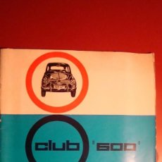 Voitures et Motocyclettes: SEAT 600. Lote 254446195