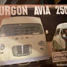 Voitures et Motocyclettes: CATALOGO FURGON AVIA 2500. Lote 254474500