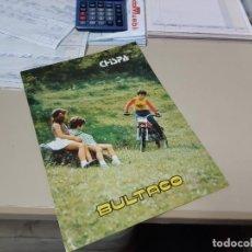 Coches y Motocicletas: BULTACO CHISPA CATALOGO ORIGINAL. Lote 257349455