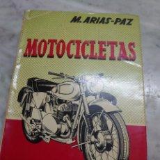 Coches y Motocicletas: PRPM 38 LIBRO DE ARIAS PAZ-MOTOCICLETAS-EDICIÓN 14. Lote 257546470