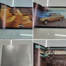 Coches y Motocicletas: CATÁLOGO PUBLICITARIO NUEVO SEAT 132 EN ESPAÑOL 1975 PRECIOSO RECUERDO PARA COLECCIONISTAS. Lote 257781190