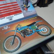 Coches y Motocicletas: BULTACO LOTE DE 9 CATALOGOS ORIGINALES. Lote 257912890