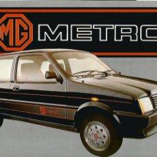 Coches y Motocicletas: MG METRO 1300 AUSTIN LEYLAND ESPAÑA, FOLLETO 4 PÁGINAS, ESPAÑOL. Lote 259711365