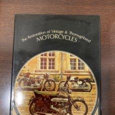 Coches y Motocicletas: LIBRO EN INGLÉS RESTAURACIÓN DE MOTOS VINTAGE. Lote 259999495