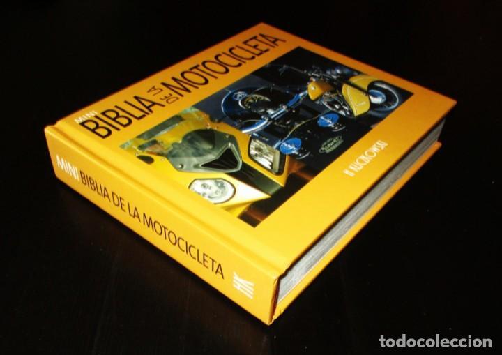 Coches y Motocicletas: MINI BIBLIA DE LA MOTOCICLETA. H. KLICZKOWSKI. EN ESPAÑOL. EDITADO EN BÉLGICA EN 2000 POR TECTUM. - Foto 15 - 261132420